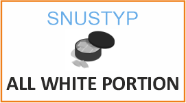 Snustyp All white portion