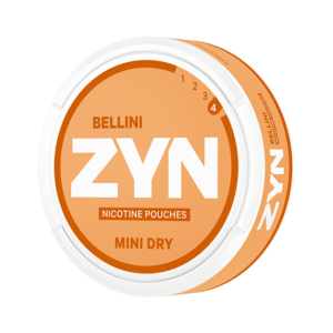 ZYN Dry Bellini Mini Strong Nicotine Pouches