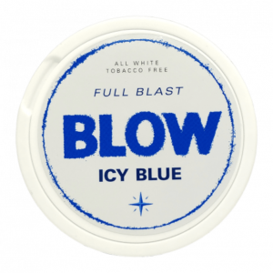 Blow White Chew Icy Blue