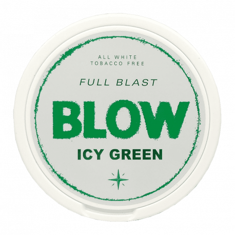 Blow White Chew Icy Green